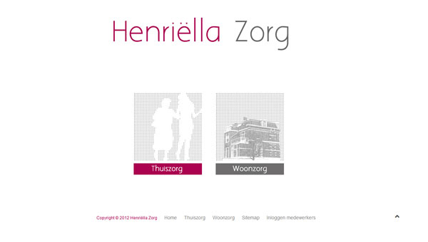 Henriella Zorg Website